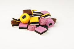 Liquorice Allsorts Royalty Free Stock Photos