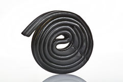Liquorice black Stock Photography