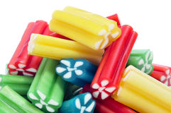 Liquorice candies Stock Photos