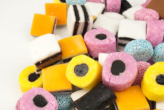 Liquorice candy Royalty Free Stock Image