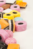 Liquorice candy Stock Images