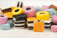 Liquorice candy Stock Photos