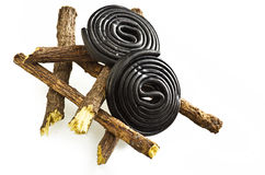 Liquorice candy Royalty Free Stock Images