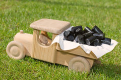 Liquorice candy delivery Royalty Free Stock Images