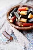 Liquorice candy Stock Image