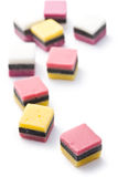 Liquorice confectionery Stock Photos