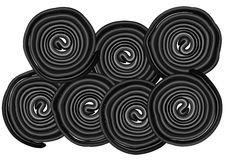 Liquorice. Isolated on white background. 10 EPS Stock Photos