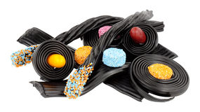 Liquorice Novelty Candy Royalty Free Stock Images