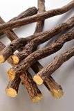 Liquorice root Stock Images