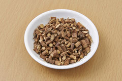 Liquorice Root Organic Chopped Stock Image