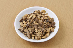 Liquorice Root Organic Chopped/Diced Stock Photo