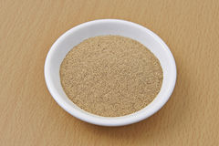 Liquorice Root Organic Powder Stock Image
