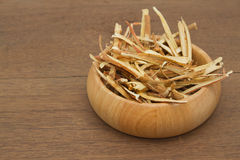 Liquorice root, used in chinese herbal Royalty Free Stock Image