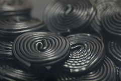 Liquorice snails Stock Photos