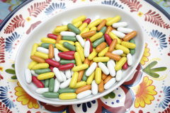 Liquorice. Some colourful candies of liquorice and sugar stock images