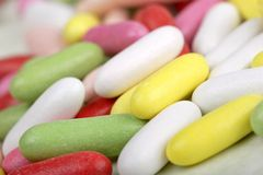 Liquorice sweets Stock Photo