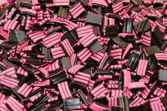 Liquorice Sweets. Suitable as background Stock Photography