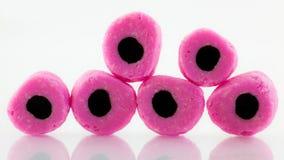 Liquorice sweets Stock Photos