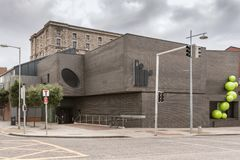 LIR-akademibyggnaden i Dublin, Irland Arkivbilder