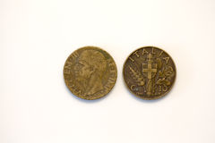 Lira cent coin Stock Image
