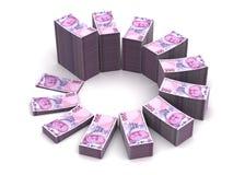 Lira Chart Stock Image