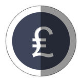 Lira currency symbol icon Stock Photo