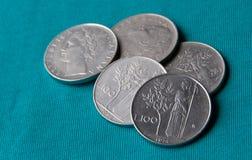 Lira, la vieja moneda italiana Fotos de archivo