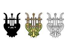 Lira simbólica Imagem de Stock