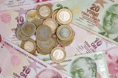 Lira turca Foto de Stock