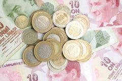 Lira turca Fotografia de Stock Royalty Free