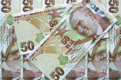 Lira turca Fotografía de archivo