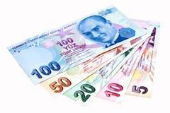 Lira turca Imagenes de archivo
