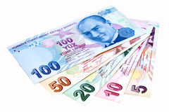 lira turkish Obrazy Stock