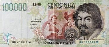100 liras del mila Imagenes de archivo