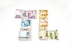 Lire turche Fotografie Stock Libere da Diritti
