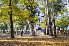 Liria, park van San Vicente Royalty-vrije Stock Fotografie