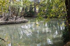 Liria, Park von San Vicente Lizenzfreies Stockbild