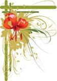 Lirio anaranjado Imagen de archivo