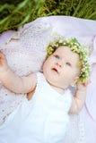 Lirio de los valles del bebé y de la flor Foto de archivo libre de regalías