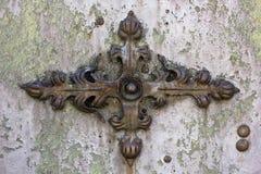 Lirio oxidado del hierro Fotografía de archivo libre de regalías