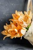Lirios anaranjados Fotografía de archivo