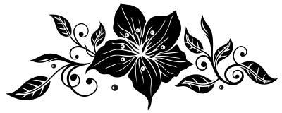 Lirios, flores ilustración del vector