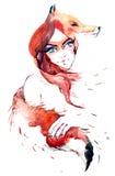 lis Royalty Ilustracja
