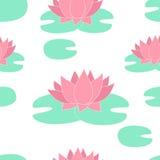 Lis blancs de fond floral de vecteur illustration stock