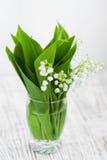 Lis de bouquet de la vallée Images stock