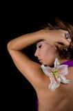 lis de fleur de beauté Photographie stock