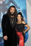 Lisa Bonet e Jason Momoa fotos de stock royalty free