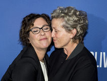 Lisa Cholodenko and Frances McDormand Stock Photos