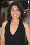 Lisa Edelstein, le Simpsons Images stock
