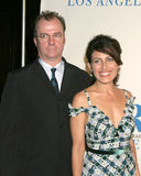 Lisa Edelstein,Michael O'Keefe Royalty Free Stock Photo
